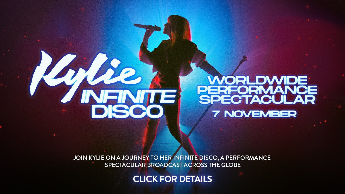 kylie infinite disco