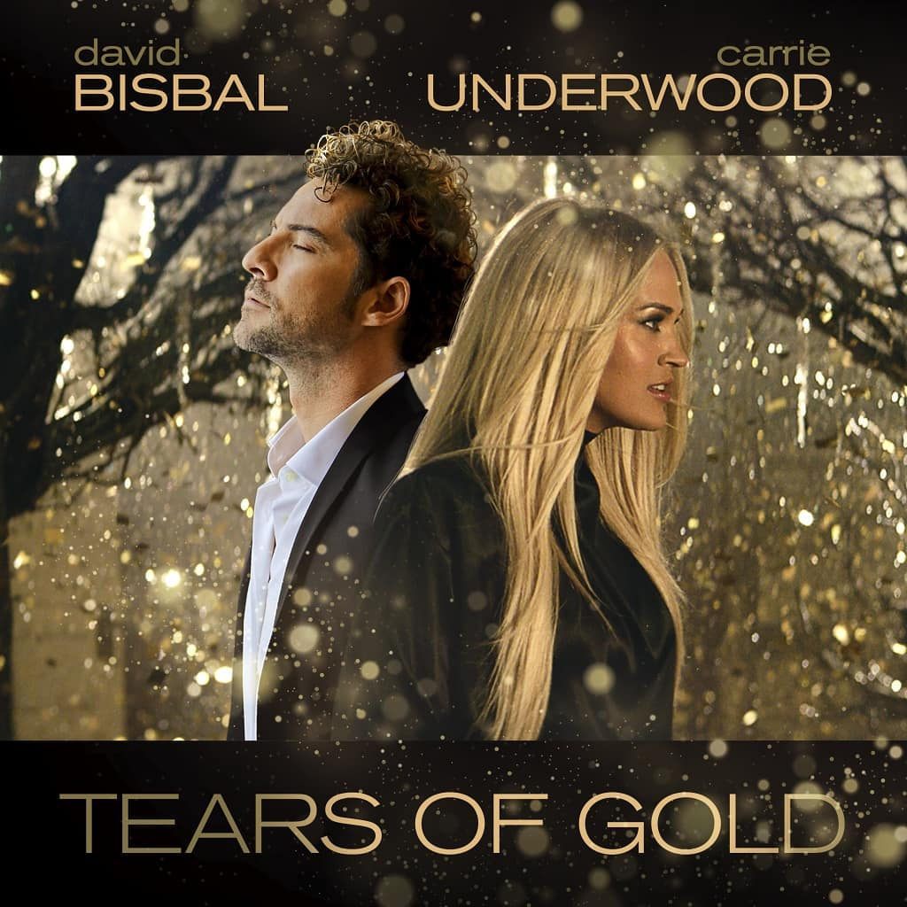 david bisbal carrie undewood tears of gold