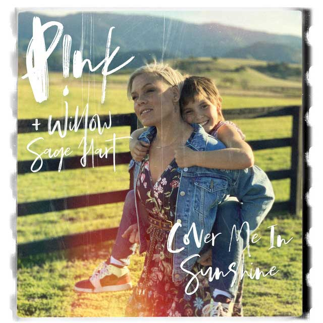 p!nk cover me in sunshine