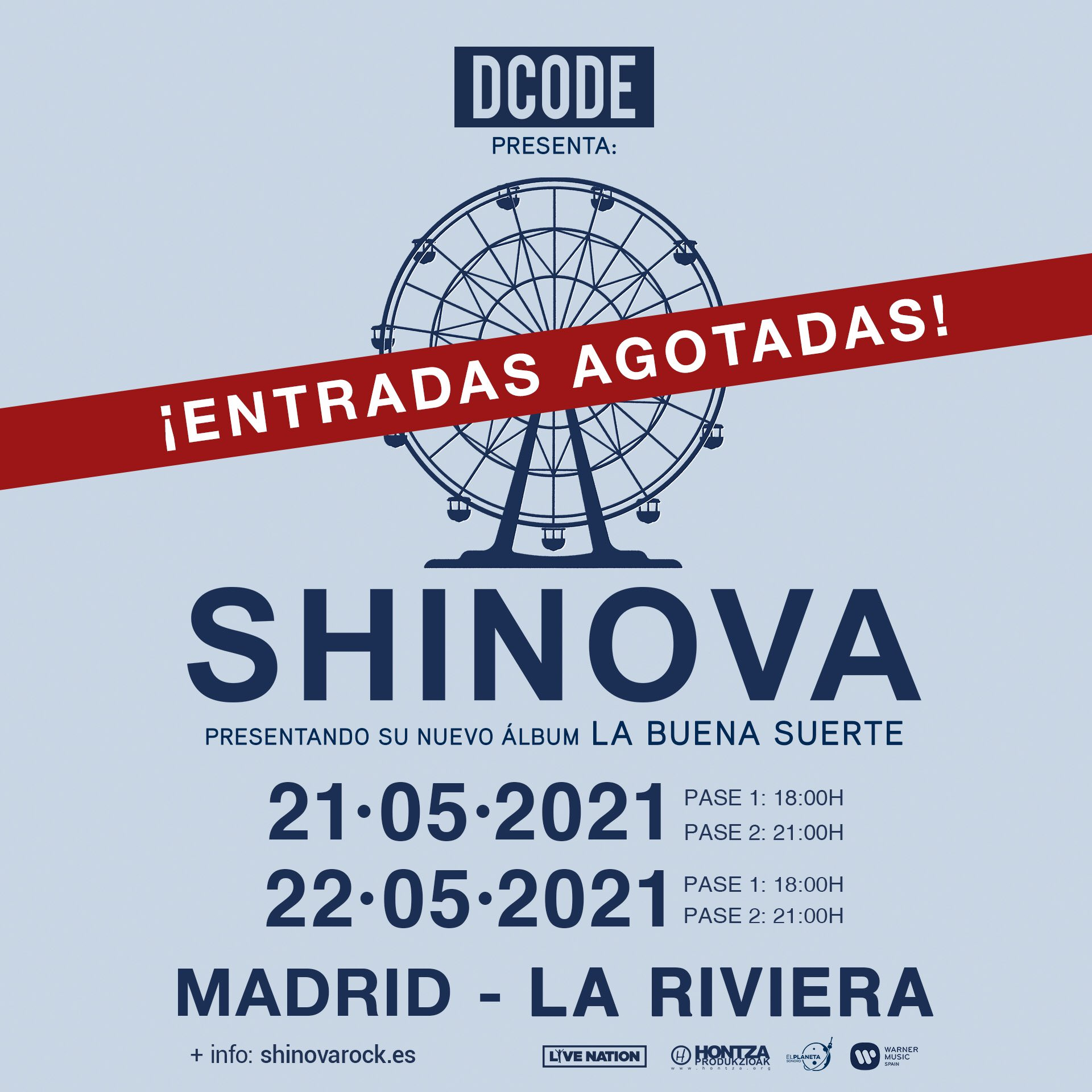 Shinova Agotado madrid